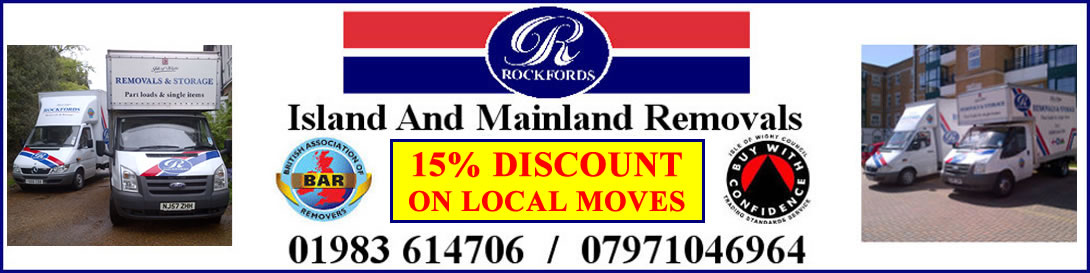Isle of Wight Removals with Rockfords