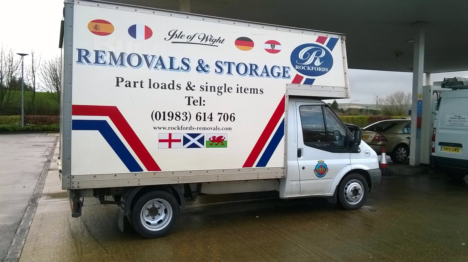 isle of wight removals part loads and returns with rockfords removals on the isle of wight isle. Black Bedroom Furniture Sets. Home Design Ideas